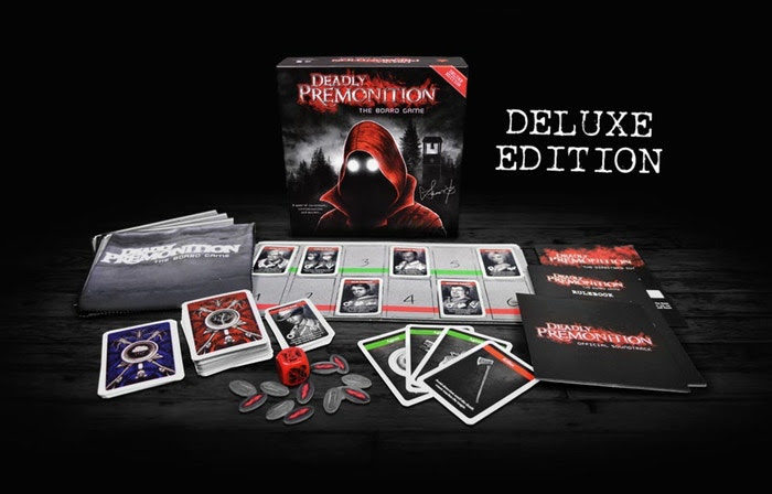 Retail Version of The Deadly Premonition Board Game is Coming in 2018!