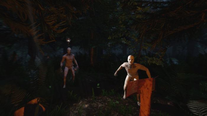 Cannibal-Camping Simulator The Forest Is Coming To PS4 in 2018