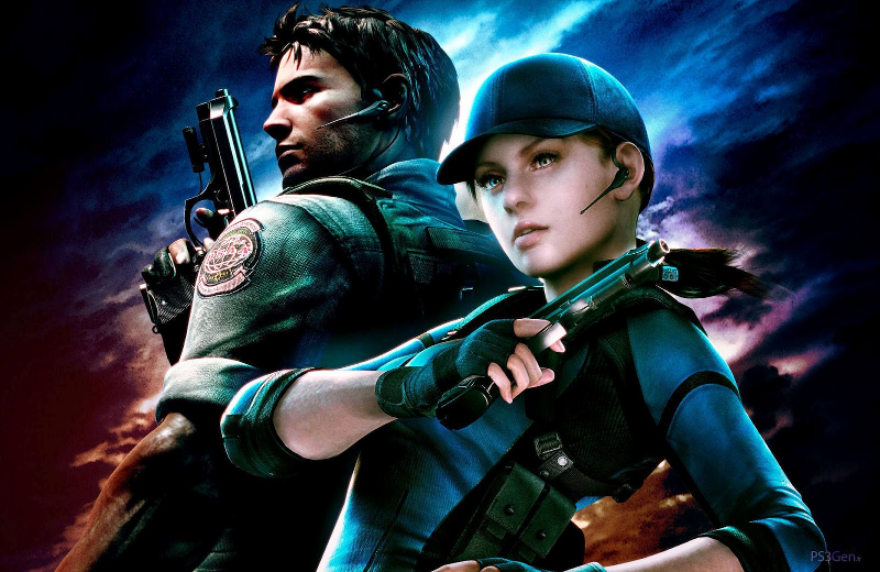 Chris Redfield Jill Valentine