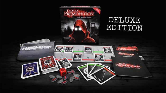 Deadly Premonition board game offers bonus code for the actual game