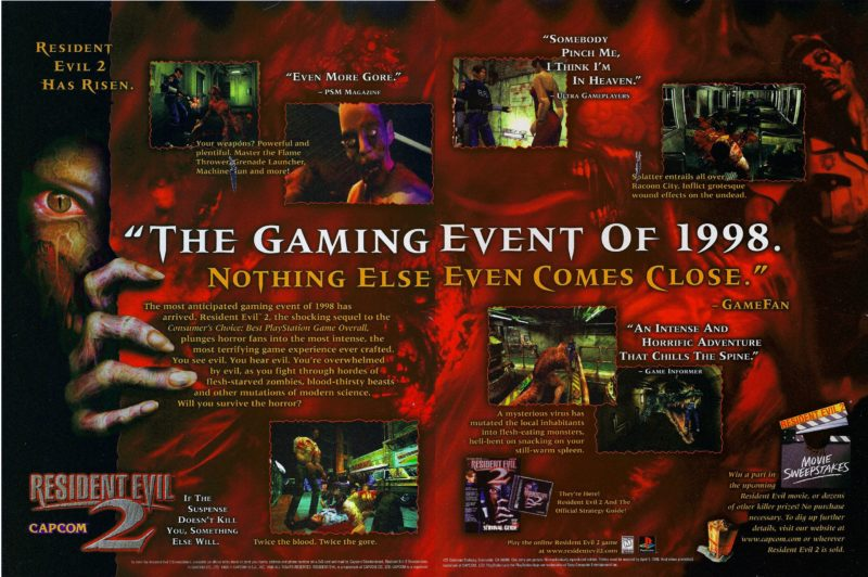 Resident Evil 2 Remake: Official RE2 Website Updated Just