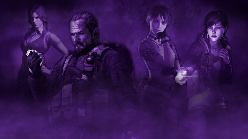 Resident Evil Side Characters
