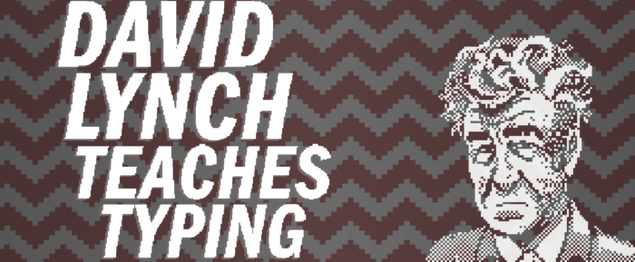 DAVID LYNCH TEACHES TYPING IS PRETTY SWELL
