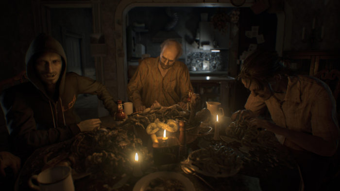 Check out RE7 Running on Xbox One X