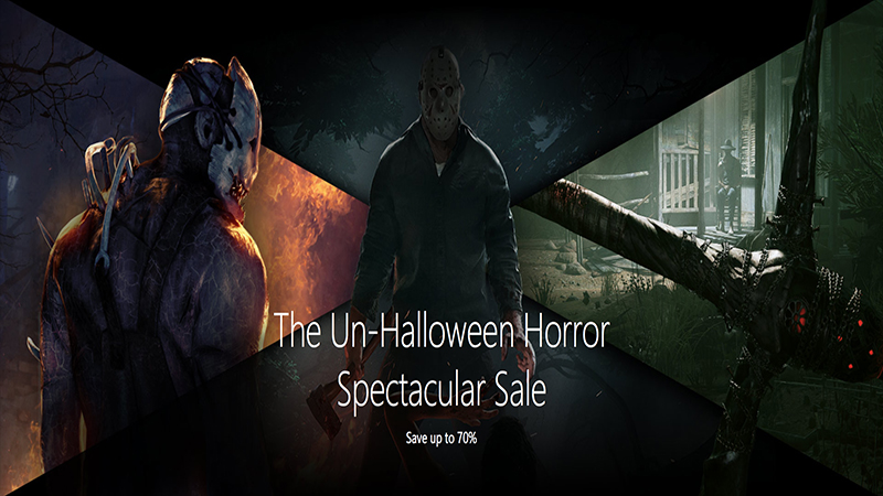 The Un-Halloween Spectacular Sale