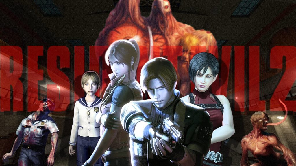 Source: Resident Evil 2 Wall by MusashiChan69 (DeviantArt)