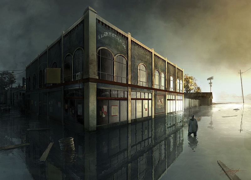 Alan Wake 2 concept art