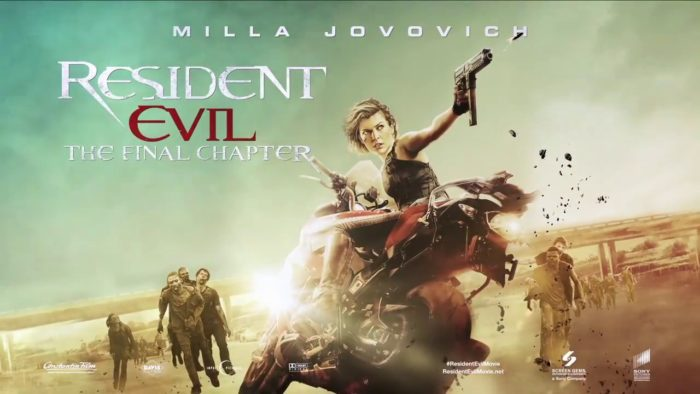 Our Next Movie Commentary is for Resident Evil: The Final Chapter!