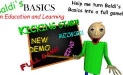 Baldi's Basics becoming a larger, more complete game through Kickstarter campaign