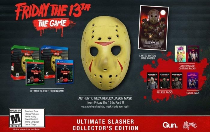 Friday The 13th: The Game Ultimate Slasher Collector's Edition Revealed