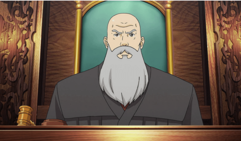 Ace Attorney Judge