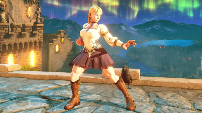 Haunting Ground's Fiona To Debut As Street Fighter V Costume