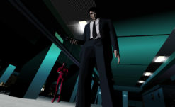Check out almost 10 minutes of Killer 7 HD