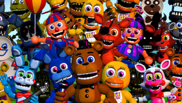 FNAF Console Ports, Movie Details, VR and AR Games Coming