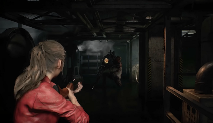 RE2 Remake: First Claire and G-Birkin Gameplay Released