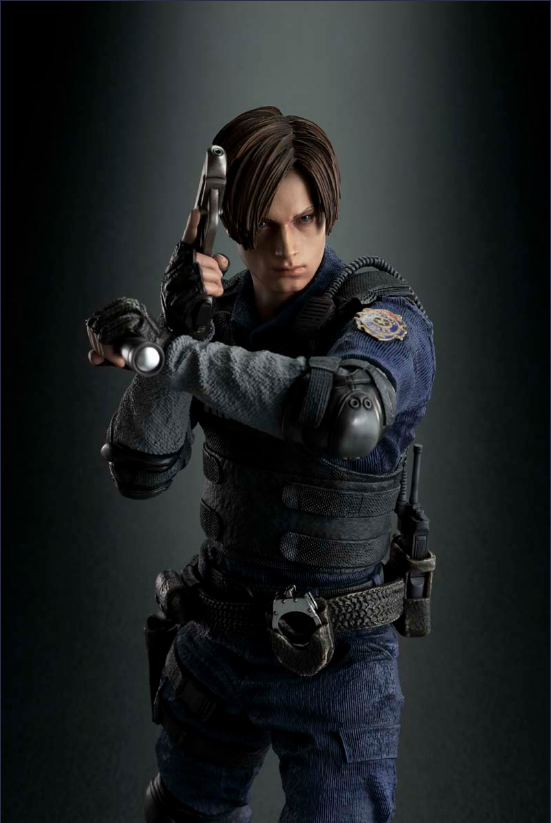 Re2 Remake Take A Closer Look At The Ce Leon Statue Rely On Horror