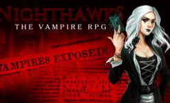 Nighthawks, Text-Based Vampire RPG up on Kickstarter