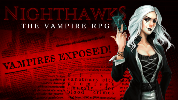 Nighthawks, Text-Based Vampire RPG up on Kickstarter