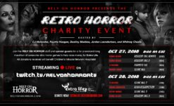 Rely On Horror Presents the 2018 Retro Horror Charity Livestream!