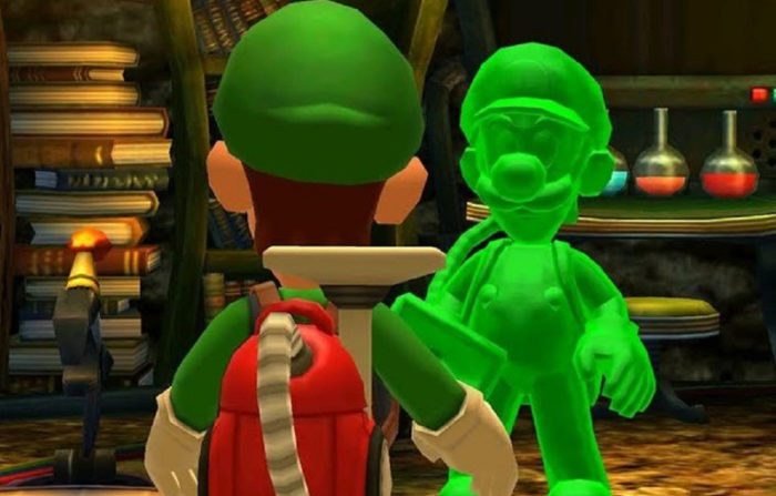 Luigi's Mansion Gooey Co-op Partner is Actually Canon