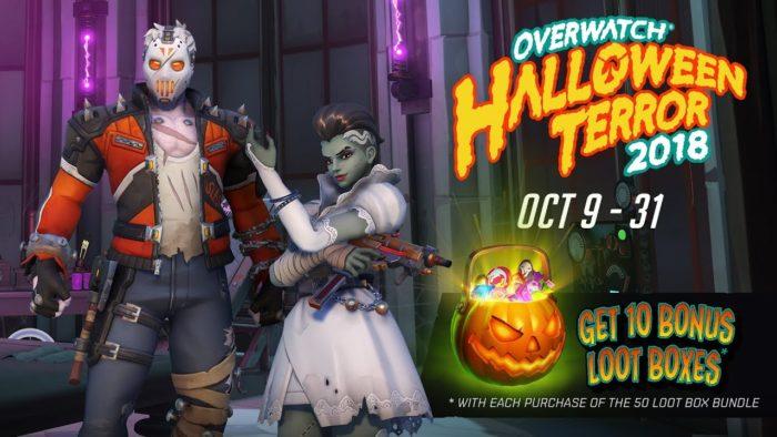 Overwatch Halloween Terror Strikes Again!