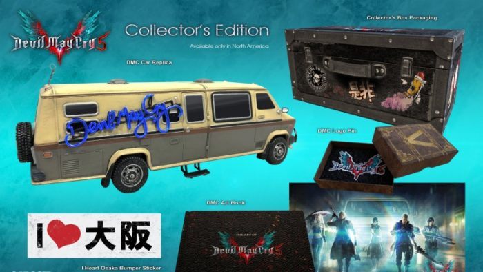 Devil May Cry 5 Collector's Edition Comes With Toy Car, Stickers