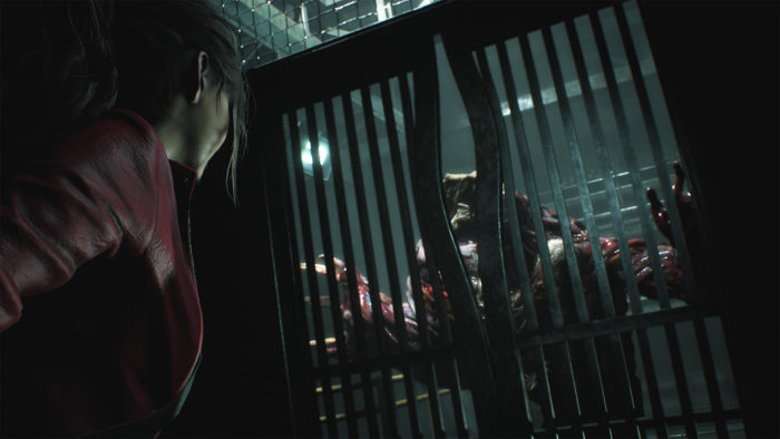 Resident Evil 2 Reports Share Images and Video Clips of Claire, Lickers, and the Samurai Edge