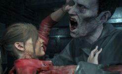 Hunk and Tofu Creep Through Resident Evil 2: Remake One-Shot Ending