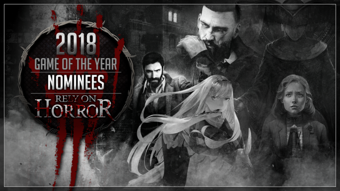 Rely On Horror's 2018 Game Of The Year: The Nominees + Community GOTY Vote