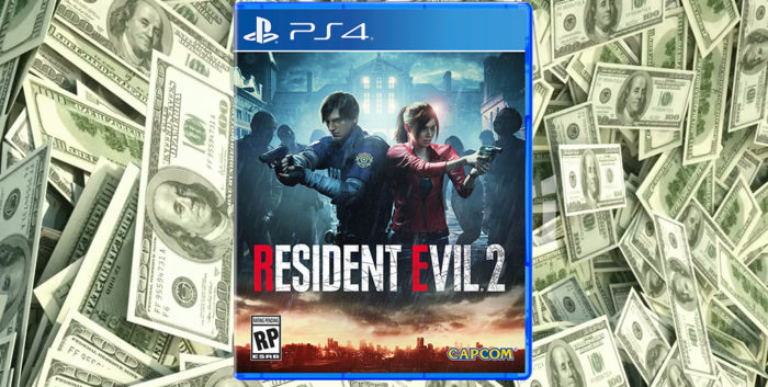 RE2 Remake Has Already Shipped 3 Million Units, RE7 Rises to 6
