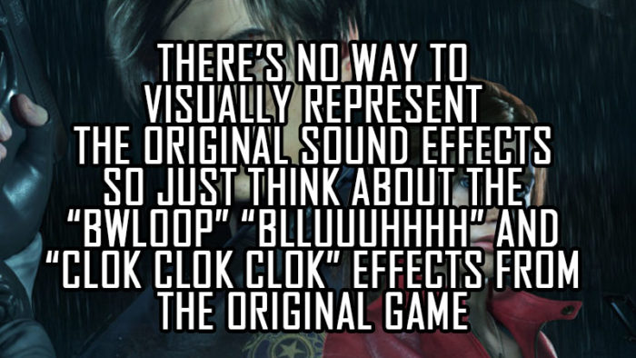 RE2 Remake: The Original OST Swap Replaces Sound Effects as Well