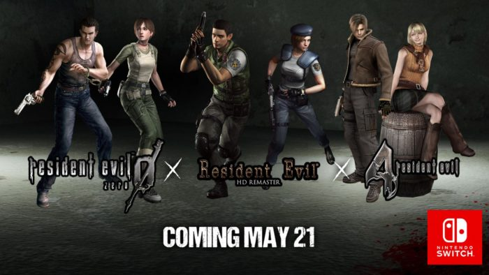 RE0 HD, REmake HD, RE4 HD, Coming to Switch Digitally May 21st