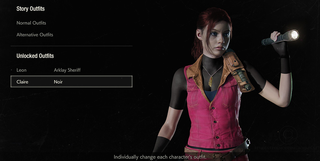 Re2 Remake Someone Fixed Claire S Classic Costume Rely On Horror