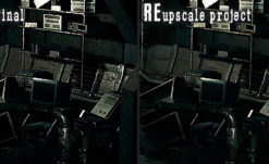 REupscale Project Cleans up REmake HD's Backgrounds