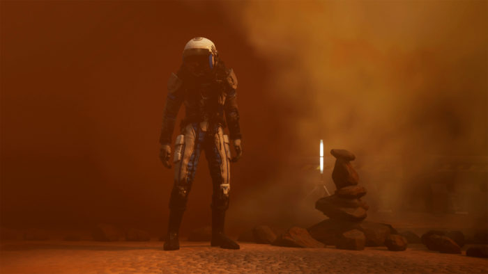 Moons of Madness: Martian Exploration Meets Cosmic Horror