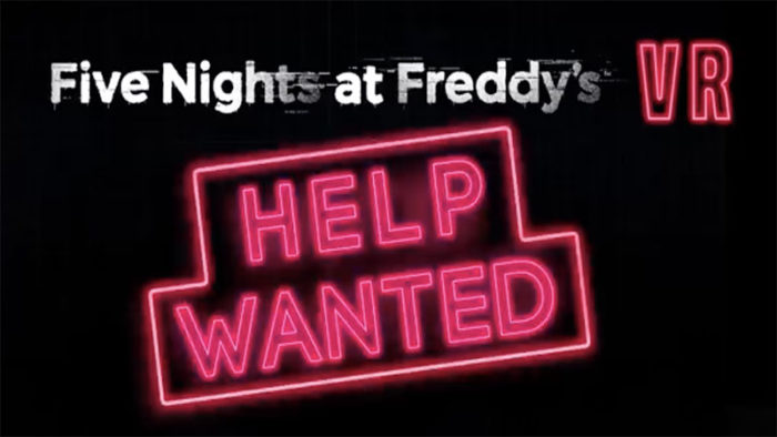 Five Nights At Freddy's VR: Help Wanted Trailer Has Dropped