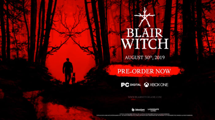 E3 2019: Check out Blair Witch Gameplay