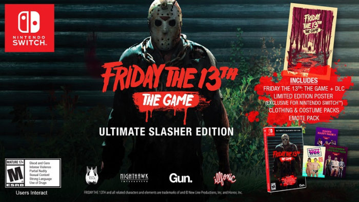 Friday the 13th Slashes the Switch this August