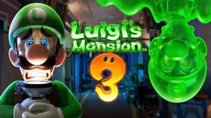 Luigi's Mansion 3 Releasing ON Halloween