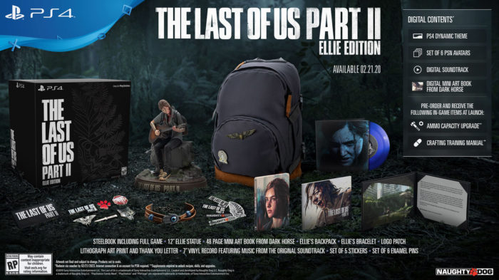 The Last of Us 2 Releases 2/21/2020, Editions Revealed