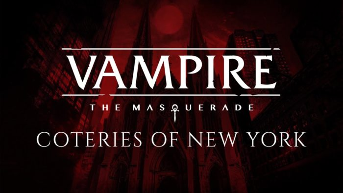 VTM: Coteries of New York Gameplay Trailer Reveals Text Based Vampirism