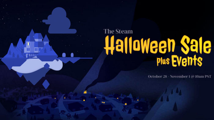 The Steam Halloween Sale is Live