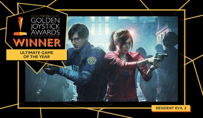 RE2 and DMC5 Win Big at Golden Joysticks