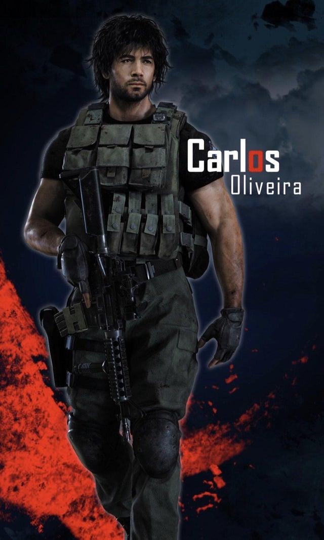Resident Evil 3 Remake Carlos Full Re Design Revealed On
