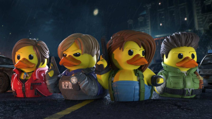 Residuck Evil! TUBBZ Cosplaying Ducks Take on Horror Game Favorites