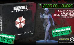 Resident Evil 3: The Board Game on Kickstarter from Steamforged Games