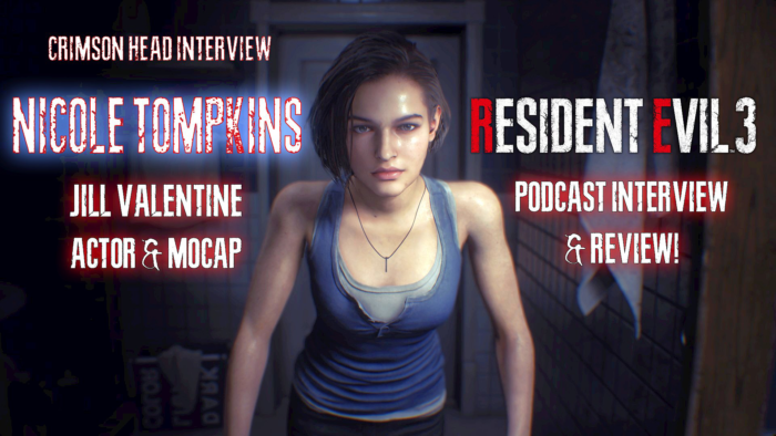 Crimson Head Podcast Season 2 Kicks Off With Jill's RE3 Remake Voice Interview, Hosted by REmake 1's Chris