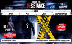 Resident Evil: Resistance Title Roadmap Revealed