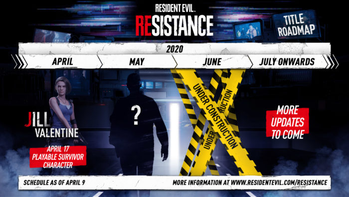 Resident Evil: Resistance Title Roadmap Revealed