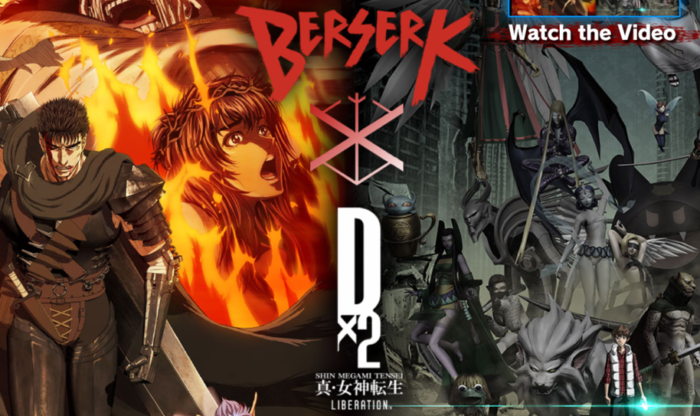 Shin Megami Tensei Liberation Dx2 Recruits Characters from Berserk